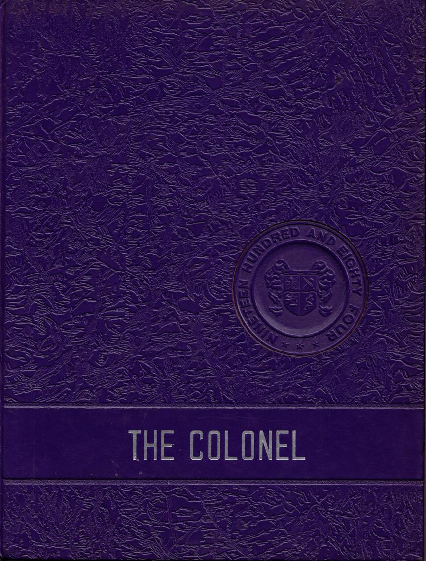1984 Caverna High School Yearbook