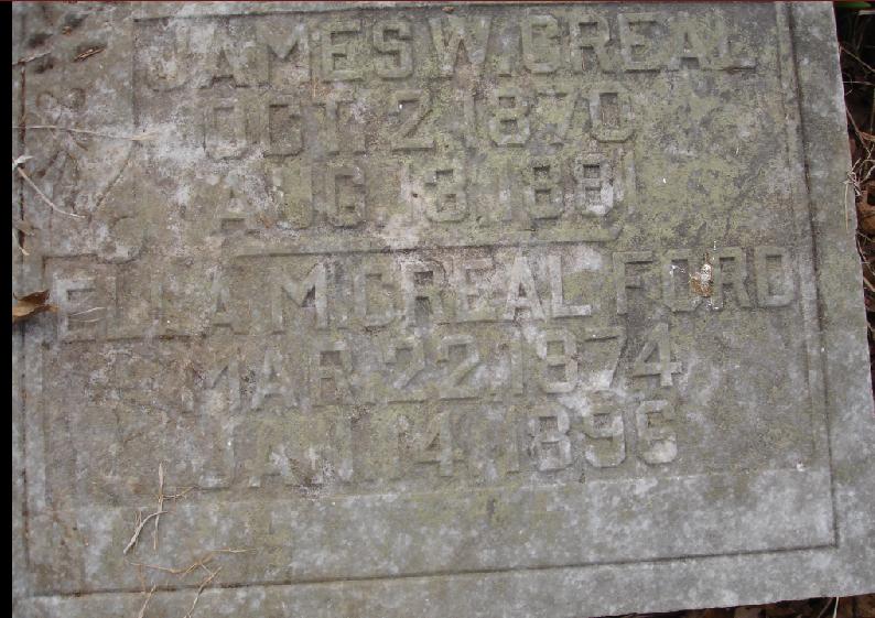 Ford Santa Rosa >> Old Creal Cemetery, Hart County, KY