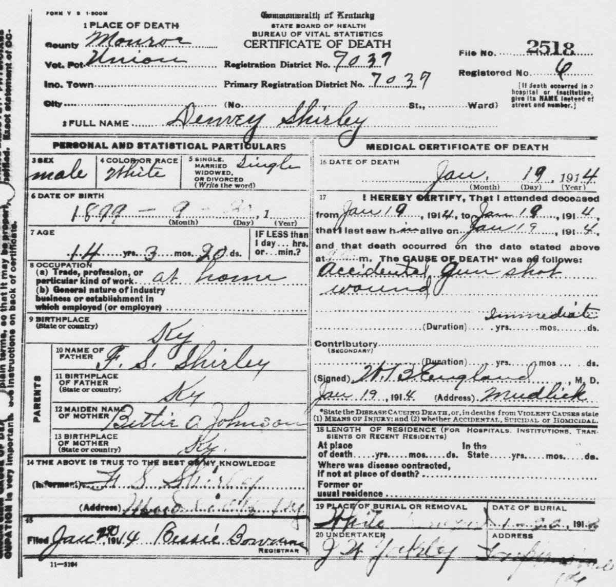 Monroe 1918 Jean Harris Sabens, Wm Monroe 1918 Jean