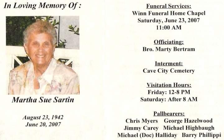 Obituaries - S
