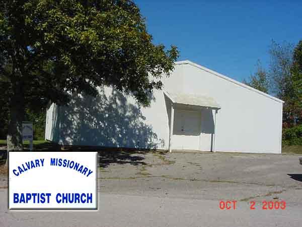 Calvary Missionary Baptist Church at Rex