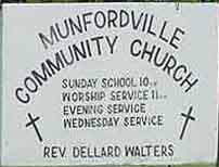 Munfordville Community Church
