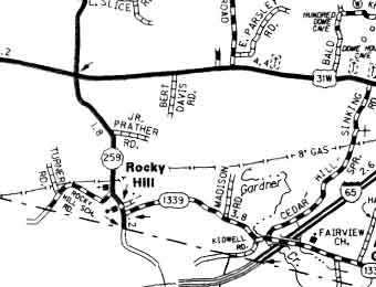Rocky Hill Map