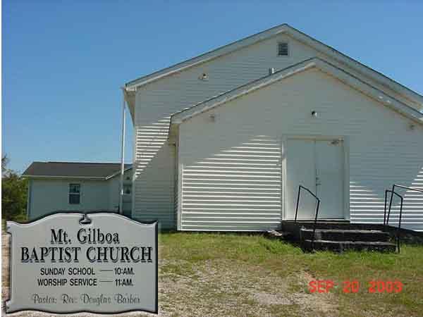 Mt. Gilboa Baptist Church