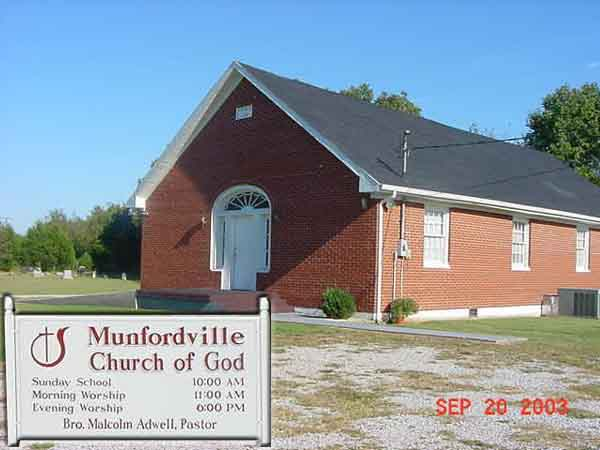 Munfordville Church of God
