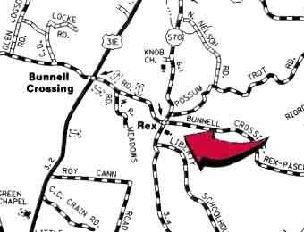 Zion Baptist Church Map