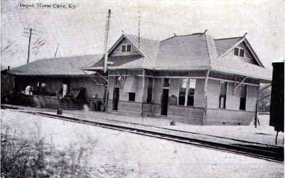 Railroad Depot, Horse Cave, KY